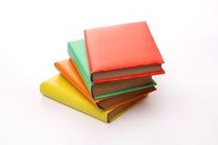 Libros aislados en blanco Fotografía de archivo libre de regalías