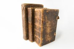 Libros antiguos Fotos de archivo libres de regalías
