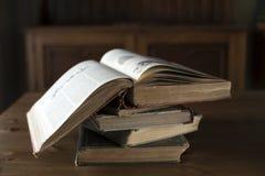 Libros antiguos Fotografía de archivo libre de regalías