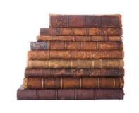 Libros antiguos de la pila imagen de archivo libre de regalías