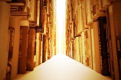 Libros atmosféricos 01 Imagenes de archivo
