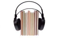 Libros audios Fotos de archivo libres de regalías