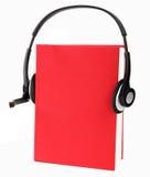 Libros audios Imagen de archivo libre de regalías