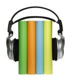 Libros audios Fotografía de archivo