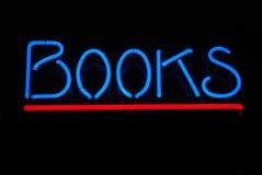 Libros azules Fotografía de archivo libre de regalías