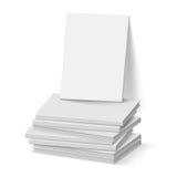 Libros blancos Imágenes de archivo libres de regalías