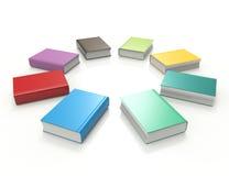 Libros coloridos Fotografía de archivo libre de regalías