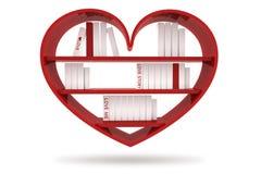 Libros con las cubiertas en blanco Stock de ilustración