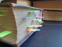 Libros de consulta Fotografía de archivo libre de regalías