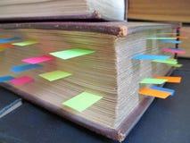 Libros de consulta Fotos de archivo libres de regalías
