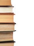 Libros de consulta empilados Imagen de archivo libre de regalías
