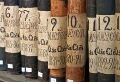 Libros de cuentas Fotos de archivo libres de regalías