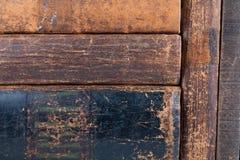 Libros de cuero viejos Fotos de archivo