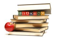 Libros de escuela imagen de archivo libre de regalías