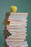 Libros de escuela de los niños Fotografía de archivo libre de regalías