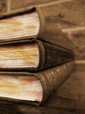 Libros de Grunge Foto de archivo libre de regalías