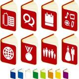 Libros de la agenda Foto de archivo libre de regalías