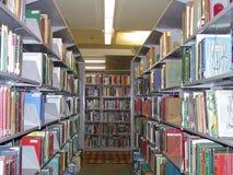 Libros de la biblioteca Imagen de archivo libre de regalías
