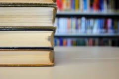 Libros de la biblioteca Imagenes de archivo