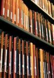 Libros de la biblioteca Imágenes de archivo libres de regalías