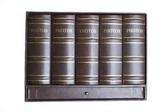 Libros de la foto Imagenes de archivo