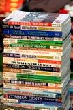 Libros de la gerencia de asunto fotografía de archivo