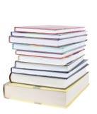 Libros de la pila Imagen de archivo libre de regalías