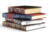Libros de la vendimia fotos de archivo libres de regalías