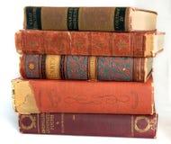 Libros de la vendimia Imagen de archivo libre de regalías