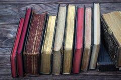 Libros de la vendimia Imágenes de archivo libres de regalías