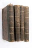 Libros de la vendimia de Foor Fotografía de archivo