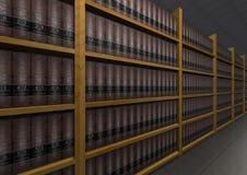 Libros de ley imagen de archivo