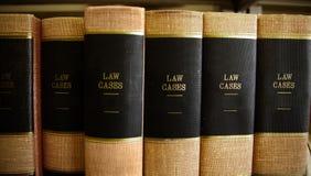 Libros de ley fotografía de archivo libre de regalías