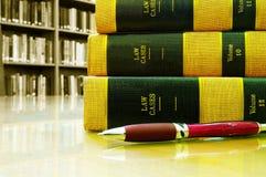 Libros de ley Fotografía de archivo