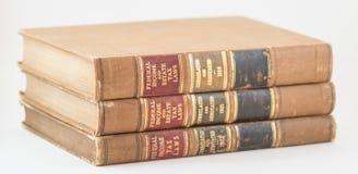 Libros de ley del impuesto sobre la renta de Federak Imagen de archivo libre de regalías