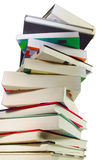 Libros de los libros de los libros Foto de archivo libre de regalías
