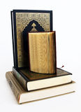 Libros de los musulmanes fotos de archivo