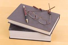 Libros de los profesores Foto de archivo