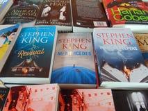 Libros de Stephen King Fotografía de archivo