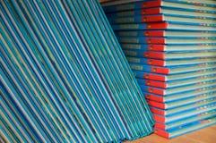 Libros de textos de la escuela primaria. Imágenes de archivo libres de regalías
