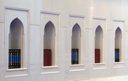 Libros del Quran en una mezquita imagenes de archivo