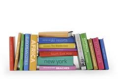 Libros del recorrido Fotografía de archivo libre de regalías