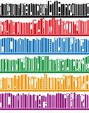 libros del vector en el estante libre illustration