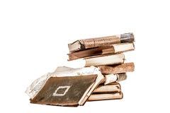 Libros empilados Fotos de archivo libres de regalías