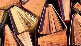 Libros en el vector almacen de video