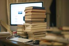 Libros en el vector Foto de archivo libre de regalías