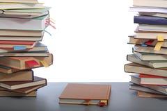 Libros en el vector Fotos de archivo