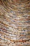 libros en la biblioteca de Praga Fotos de archivo
