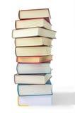 Libros en la pila Foto de archivo libre de regalías