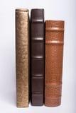 Libros en un fondo blanco Fotos de archivo